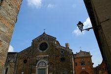 Volterra - Cathedral Stock Photos