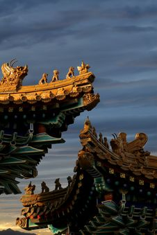 Eave Of The Imperial Palace. Royalty Free Stock Photography
