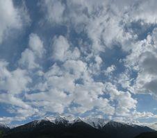 Free Sky In Spring In Tirol / Tyrol Stock Photo - 5057600