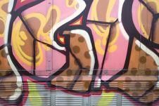 Free Graffiti Background Royalty Free Stock Photography - 5057827