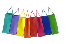 Free Shopping Bags Stock Images - 5057834