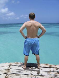 Free Caribbean Plunge Stock Image - 5057861
