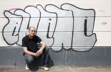 Free Graffiti Man Stock Photo - 5057970