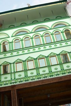 Free Facade Building Old Style Stock Images - 5058794