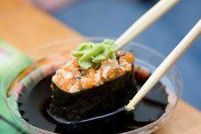 Free Taking Sushi Royalty Free Stock Images - 5058929