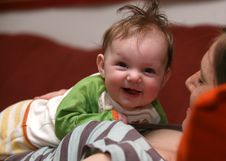 Free Smiling Baby Royalty Free Stock Images - 5059359