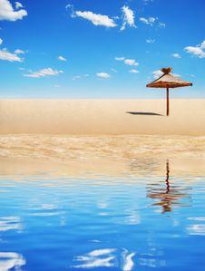 Free Tropical Sunshade Stock Photos - 5059823