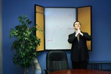 Free Businessman Praying For Success Stock Images - 5059874