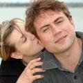Free Loving Wife S Kiss Stock Image - 5063271