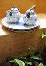 Free Tea Set. Stock Photo - 5064550