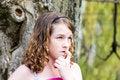 Free A Girl Contemplating Stock Photos - 5068083