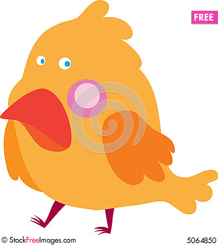 Free Yellow Birdie Stock Photo - 5064850
