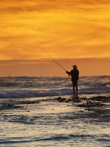 Free Fisherman Royalty Free Stock Image - 5060166