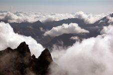Free Cloud And Valleys In The Italian Alps Stock Photo - 5060920