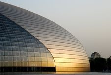 Free Chinese National Grand Theater Stock Photos - 5061303