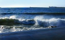 Free Storm In The Crimean City Of Sevastopol Royalty Free Stock Photo - 5061405