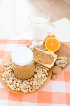 Free Peanut Butter Stock Photos - 5062543