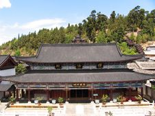 Free Chinese Ancient Temple Royalty Free Stock Photos - 5062638