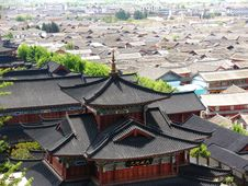 Free View Of Lijiang City Royalty Free Stock Photography - 5062697