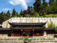 Free Ancient Temple In Lijiang Royalty Free Stock Images - 5062789