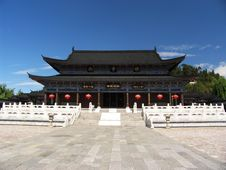 Free Ancient Temple In Lijiang Stock Photography - 5062902