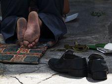 Free Tibetan Feet Royalty Free Stock Image - 5063266