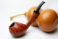 Free Tobacco Pipe Royalty Free Stock Photography - 5064137