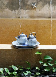 Free Tea Set. Stock Photos - 5064533