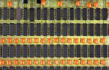 Free Microcircuits Stock Image - 5064841