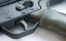 Free Military Weapon Trigger Stock Photography - 5066062
