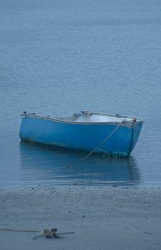 Free Blue Boat Stock Photos - 5066113