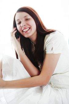 Free Speak Teen Royalty Free Stock Image - 5066216