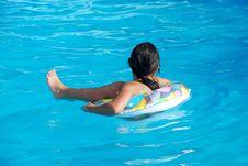 Free Girl Swimming Stock Image - 5066371