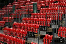 Free Empty Red Seats In Sports Stadium Stock Photos - 5066413