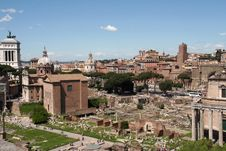 Free Roman Forum Royalty Free Stock Images - 5066639