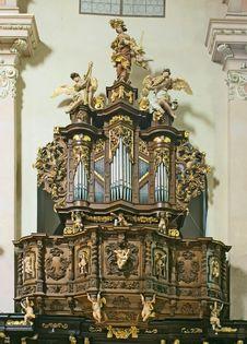 Free Baroque Organ Royalty Free Stock Image - 5066896
