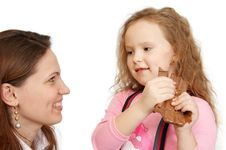 Free Child And Mother Royalty Free Stock Image - 5067346