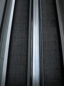 Escalator Stock Image