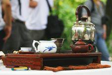 Free Tea Set Royalty Free Stock Image - 5068266