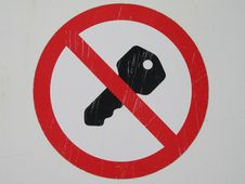Free No Ignition Sign Stock Photos - 5068273