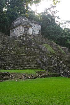 Mayan Tomb Royalty Free Stock Photos