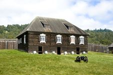 Free Fort Ross Royalty Free Stock Photo - 5068505