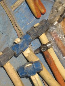 Free Types Of Hammers Stock Image - 5068561