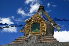 Free Buddha Pagoda In LuGu Island Stock Images - 5068644