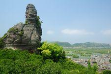 Volcanic Sedimentary Rock Royalty Free Stock Image