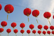 Free Red Lanterns Stock Photos - 5068703
