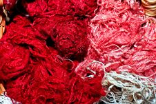 Free Red Silk Stock Photography - 5068742