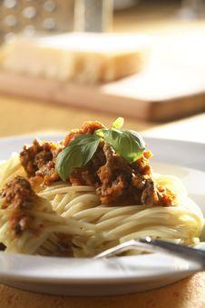 Free Spaghetti Bolognese Stock Photo - 5068890