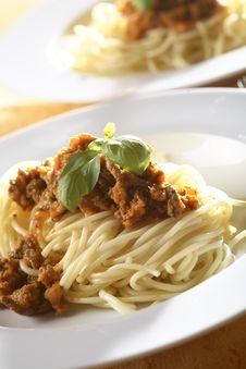 Free Spaghetti Bolognese Stock Photography - 5068902