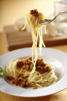 Free Spaghetti Bolognese Stock Photography - 5069082